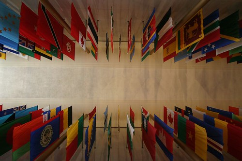 Hall of Nations. John F. Kennedy Center for Performing Arts.