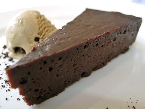 Bittersweet Chocolate Torte