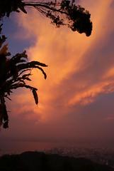 Silhouette pt2 (~ kokstang) Tags: sunset car train traditional cable hanging lama penang langkawi brigde rumah bukit tradisional bendera helang mahsuri