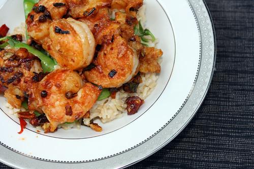 Meat-Free Friday: Kung Pao Shrimp 1