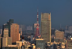 Sunset on The City #2 (hidesax) Tags: sunset japan tokyo nikon dusk tokyotower d90 sunsetonthecity hidesax dxnikkor55200mmf456gedvr
