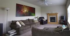 Family Room (voleskym) Tags: trees art painting large livingroom sofa
