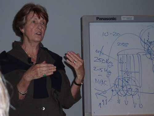 Dr. Caldicott giving a lecture (flickr.com/photos/pgsottawa/)