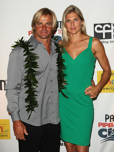 Co-Chair/Surfer Laird Hamilton and Vollyball player Gabrielle Reece attends the 2nd Annual PacSun Pipeline To A Cure For The Cystic Fibrosis Foundation held at the Hyatt Regency Resort & Spa on July 18, 2009 in Huntington Beach, California.