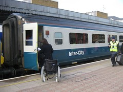 Train Chartering - UK intercity train for charter / hire, exterior of carriage