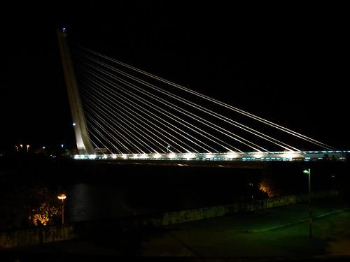 Sevilla Springsteen 15 El puente de Calatrava ya de vuelta
