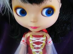 Big blue eyes of my little Maya