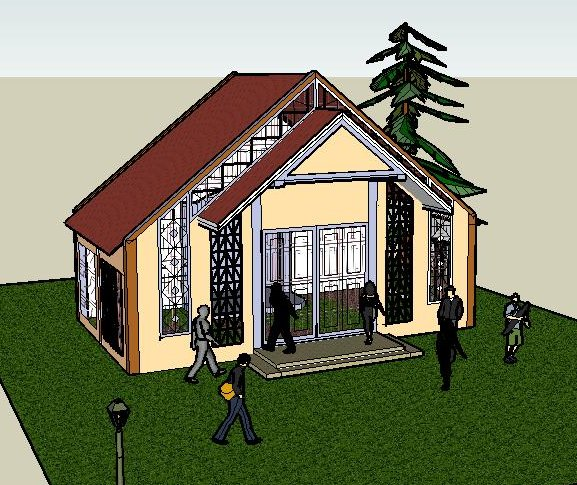 Design of a Chapel Mausoleum for the proposed Gen. Santos City Memorial Park