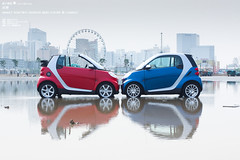 smart fortwo passion mhd coupe & cabrio * Play (jiazi) Tags: auto china smart car 10 beijing style convertible passion cabrio coupe cabriolet fortwo mhd mirrorser