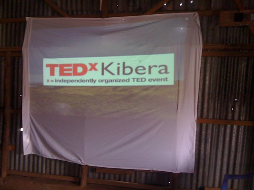 The TEDx Kibera Stage