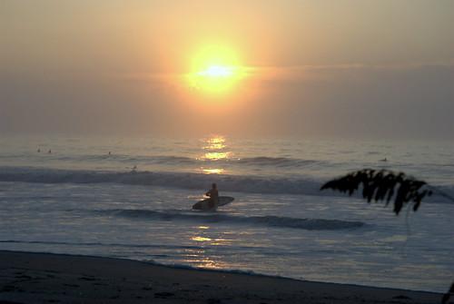 WB surfing. Wrightsville Beach
