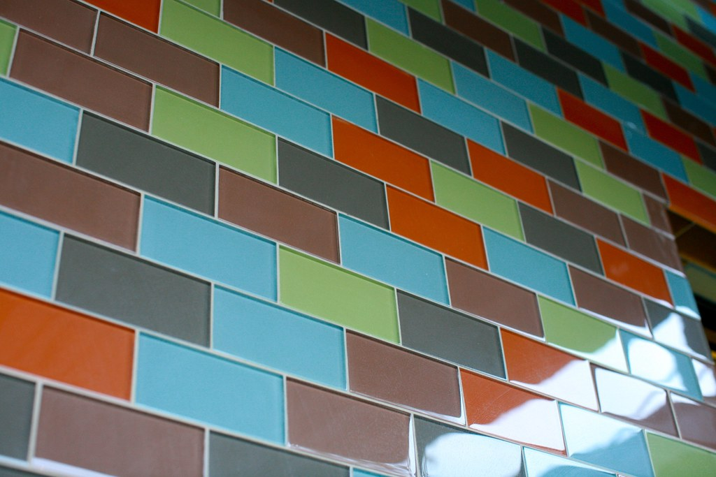 Colorful Glass Tilework