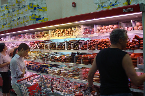 Wall of Sausage! Net Cost Market.
