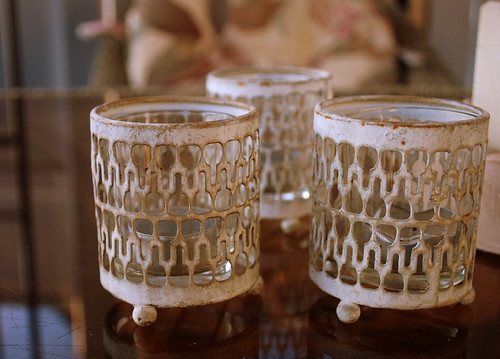 Last Days of Summer - My Favorite summer candle holders
