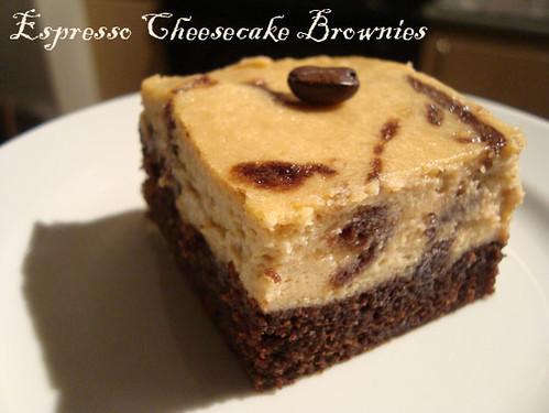 Buttercream Barbie: TWD: Espresso Cheesecake Brownies