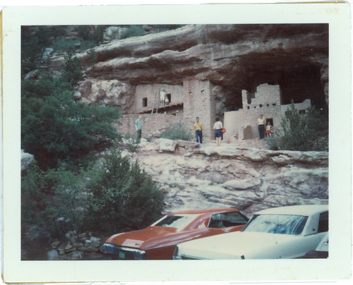 Cliff Dwellers Polaroid
