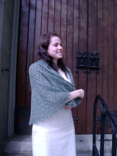 Girasole shawlette
