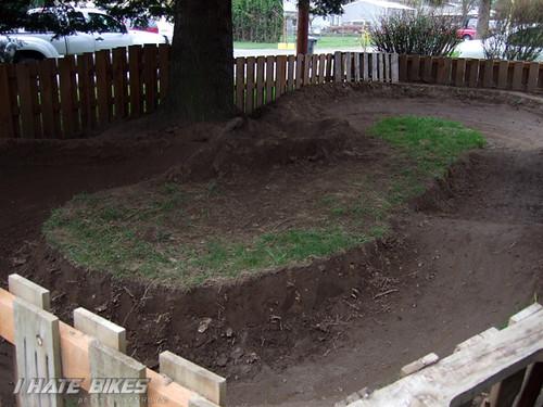 Aaron Lutzes pump track