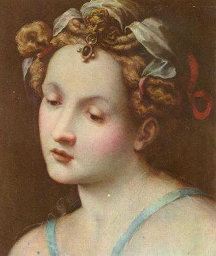 testa di donna..
