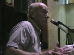 Carl Kabat at the 2008 Catholic Worker national gathering