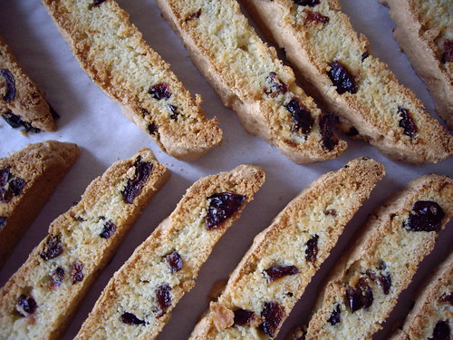 Cornmeal and Fruit Biscotti
