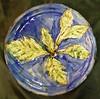 Oak leaf plate