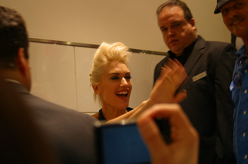 Gwen Stefani At Bloomingdales Fashion's Night Out 4