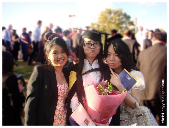 DSC01462USQ Graduation Ceremony 2009: My Friends