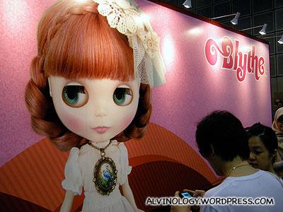 Blythe dolls booth