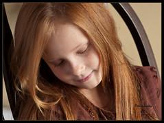 Loving (Darrell Lawrence ( darrelllawrence.com )) Tags: family cute beautiful kids female children happy kid nikon child sassy daughter redhead isabell d300 85mm14 nikon85mm14