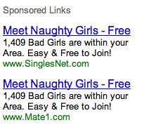 Google Ads for Naked