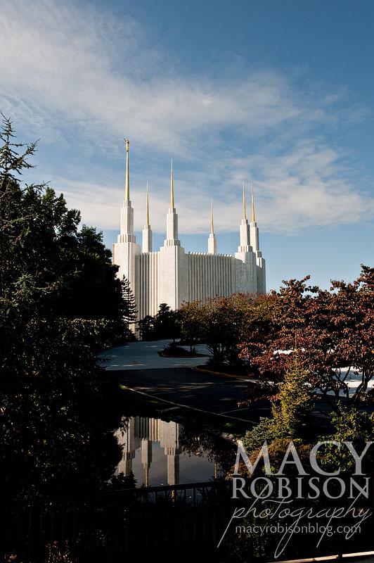 Washington DC LDS Temple Exterior 11