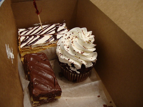 Selection of baked goods from La Bon