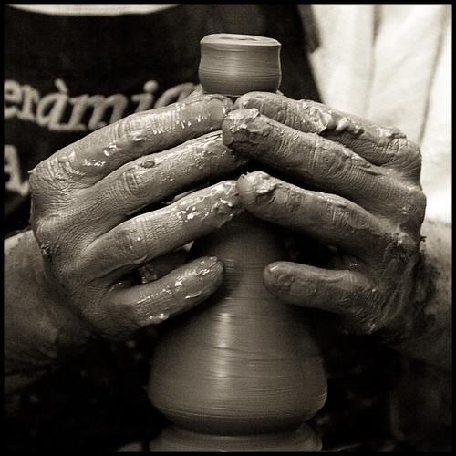 Les mans del terrisser // The Potter's Hands