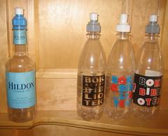 literary bottles