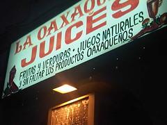 el mexico en la (nycla9) Tags: mexico losangeles jugos westhollywood oaxaqo juicessigns