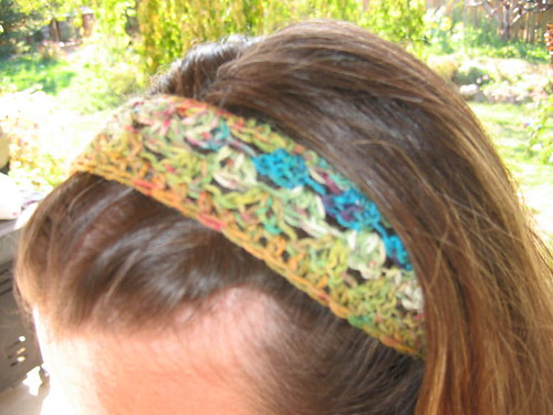 Springy Head Wrap on