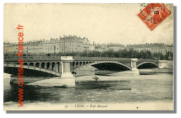 57. - LYON. - Pont Morand