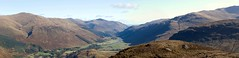 Meall nam Maigheach: Glen-Lyon looking east from  Creag an Eidneag (stusmith_uk) Tags: landscape scotland munros corbetts glenlyon anstuc carngorm meallnammaigheach creaganeidneag meananaighean
