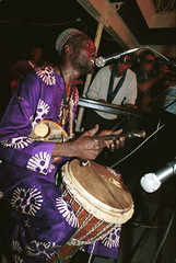 Imbile from Nigeria at the Africa Centre London Sept 2001 012 Baba Adesose Wallace (photographer695) Tags: mibile africacentre world african music baba adesose wallace nigeria africa centre london sept 2001
