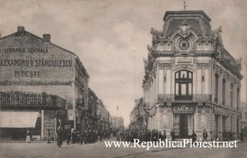 Strada Lipscani - Vedere din Piata Unirii