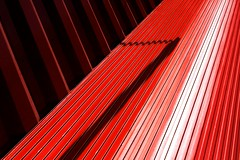 Twizzler (Tailer Ransom) Tags: cambridge shadow red white abstract boston canon eos nikon colorful glare play lexington vibrant massachusetts perspective 7d minimalism puzzling medford ransom xsi williamscollege lockwood twizzler tailer unusualviewsperspectives ministract tailerransom thanksforthetitlediana