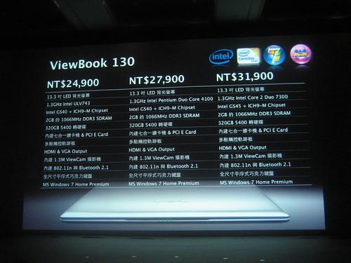 Viewsonic Viewbook 130
