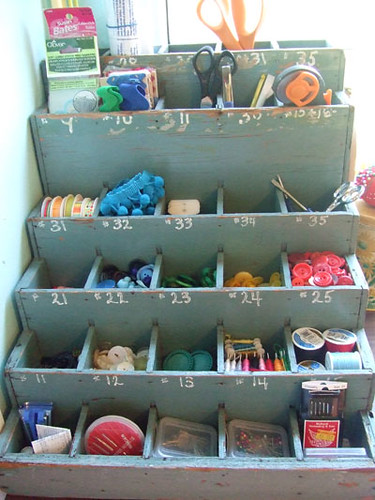 Old Hardware Organizer, Turned Notion Organizer