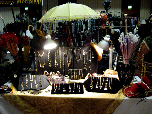 My Booth in the Vendors' Bazaar