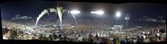 U2 Panaorama at the Rose Bowl on 10/25/09