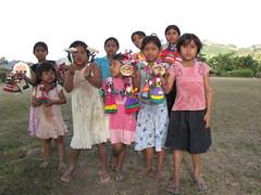 Cornhusk doll vendors