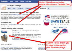 Creating a custom Facebook Page with FBML