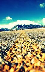 road trip (Nttnylion) Tags: road trip mountains colorado roadtrip yellowlines roadshot buenavistaco