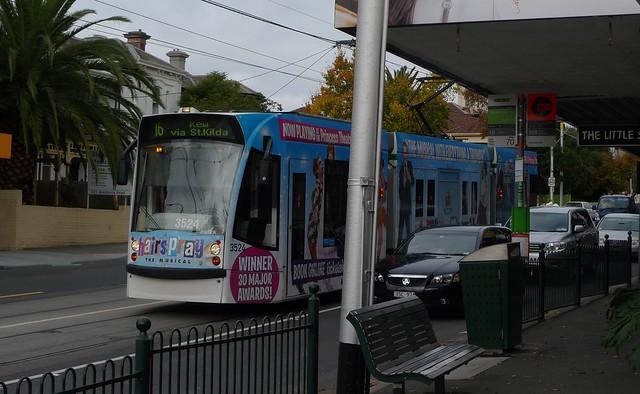 POTD: Fences at tram stops